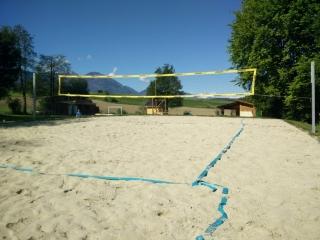 Volleyballplatz Jugendzeltplatz