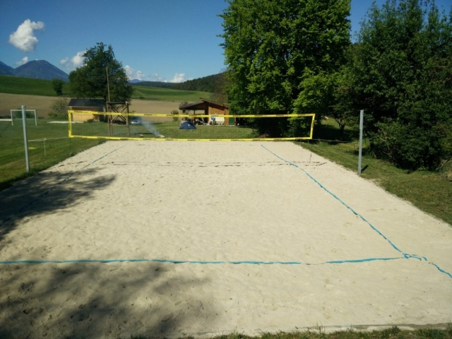 Volleyball am Jugendzeltplatz Turnersee
